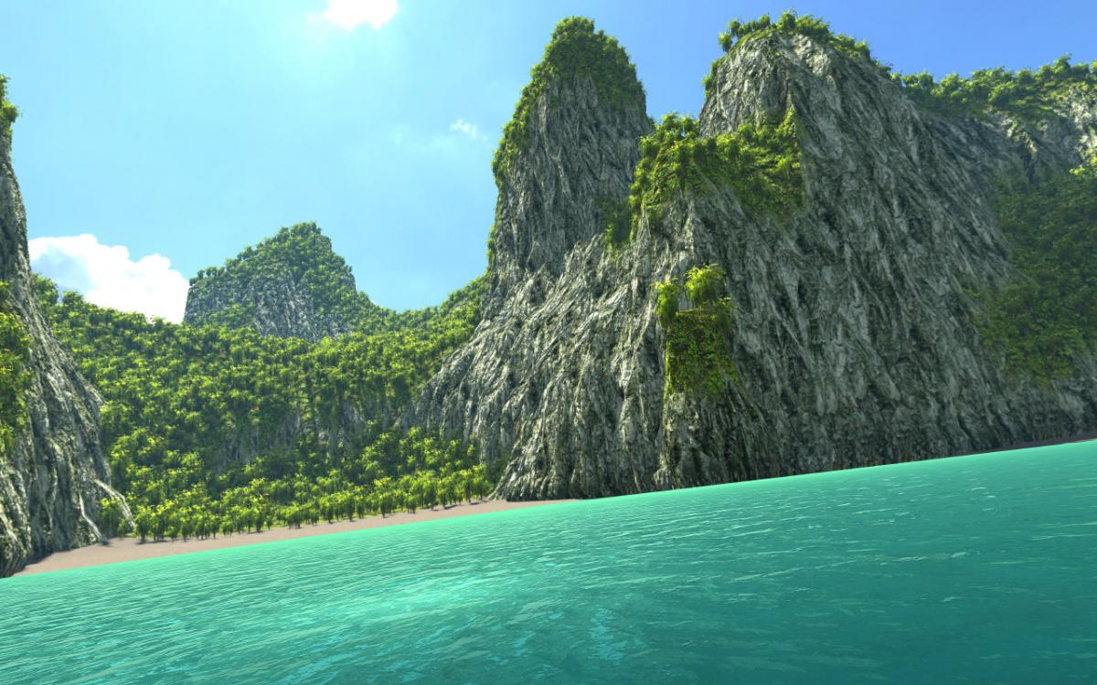 TBA (Mobile) - Water (Shader, Maps, usw ) - Galerie - Unity