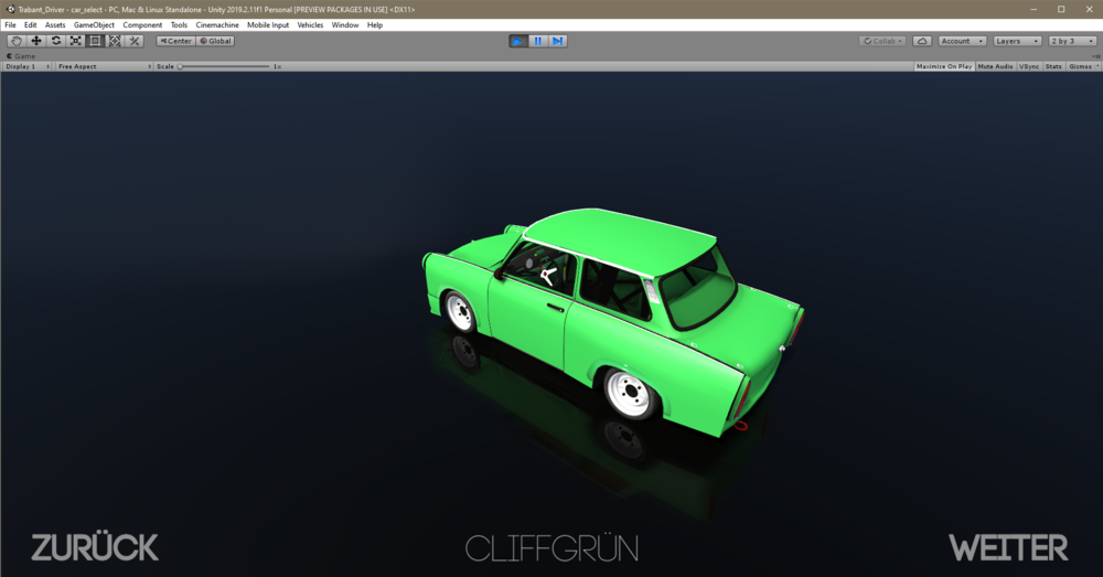 Trabant_Driver - car_select - PC, Mac & Linux Standalone - Unity 2019.2.11f1 Personal [PREVIEW PACKAGES IN USE] _DX11_ 11.12.2019 18_26_25.png